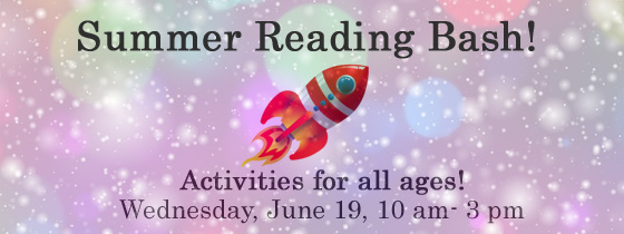 Summer Reading Bash