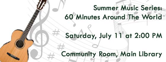 Summer Music Series: Latin, Jazz, and Standards