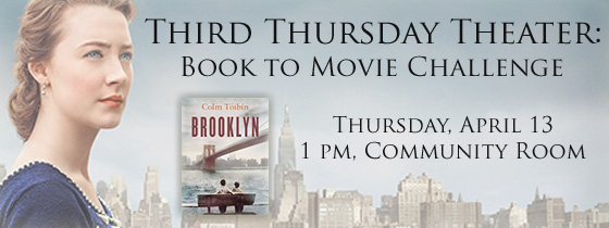 Third Thursday Theater: Book-to-Movie Challenge
